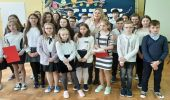 Europoseł Elżbieta Łukacijewska gościem Szkoły Podstawowej nr 2 w Golcowej