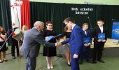 Uroczyste rozpoczęcie roku szkolnego w ZSZ w Dynowie . 10 stypendiów dla zdolnych uczniów