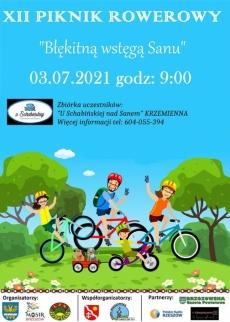 Błękitną wstęgą Sanu - rajd rowerowy