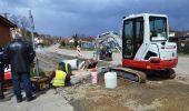 Rozpoczęto przebudowę ulicy Piastowej w Brzozowie
