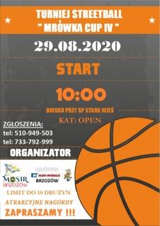 "Stara Wieś. Turniej streeball ""Mrówka cup IV"""
