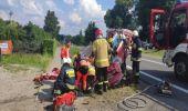 Humniska. Wypadek drogowy, 7-miesięczne dziecko w szpitalu