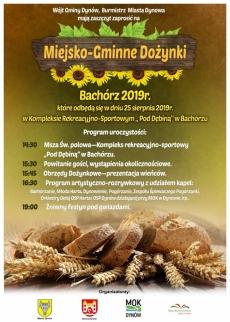 Bachórz. Miejsko-Gminne Dożynki 2019