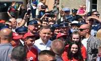 Prezydent RP - Andrzej Duda w Jasienicy Rosielnej