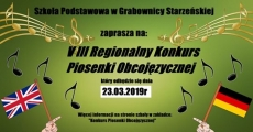 Konkurs piosenki obcojęzycznej Grabownica Starzeńska