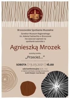 Muzeum. Spotkanie z Agnieszką Mrozek
