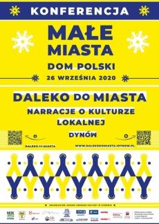 """Dynów - konferencja """"Małe miasta. Dom polski"""""""