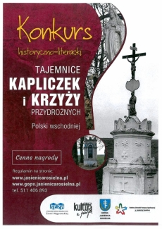 Tajemnice kapliczek i krzyży przydrożnych - konkurs