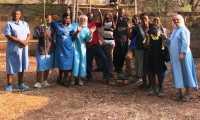 Nozdrzec. 8 ton makulatury na potrzeby misyjne
