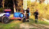 Izdebki. Strażacki quad – dostosowany do działań pożarniczych
