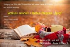 "Spotkanie z Ruchem Poetyckim ""Zgrzyt"""