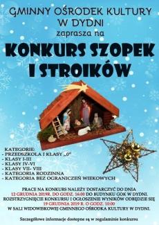 Konkurs szopek i stroików świątecznych