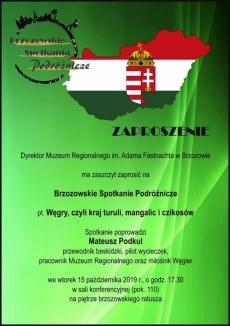 Węgry, spotkanie podróżnicze