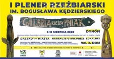 I Plener rzeźbiarski im. Bogusława Kędzierskiego - Dynów 2020