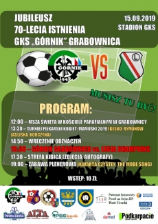 70 lat GKS Grabownica