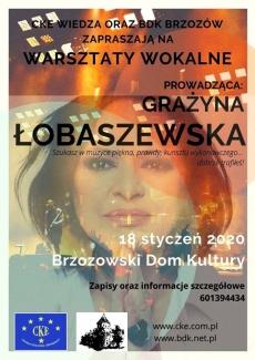 Warsztaty z G. Łobaszewską
