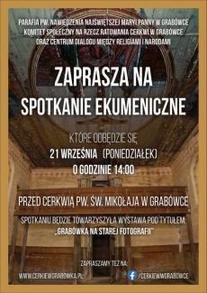 Spotkanie ekumeniczne Grabówka 21.09.2020