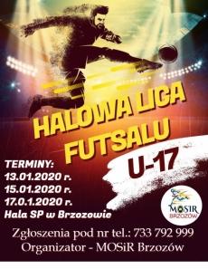 Halowa Liga Futsalu w Brzozowie