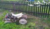 Grabówka. Wypadek pijanego kierowcy quada