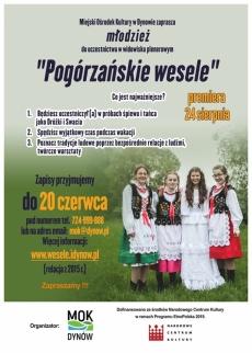 """""""Pogórzańskie wesele"""". Dynów 2019"""