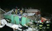 Pod naporem śniegu zawalił się dach domu w Humniskach