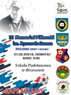 III Memoriał Piłkarski im. Ryśka Samca