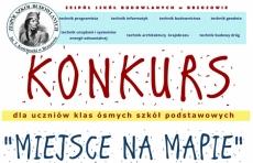 """Konkurs ZSB """"Miejsce na mapie"""""""